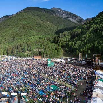 Telluride Bluegrass Festival: Saturday, June 17, 2017