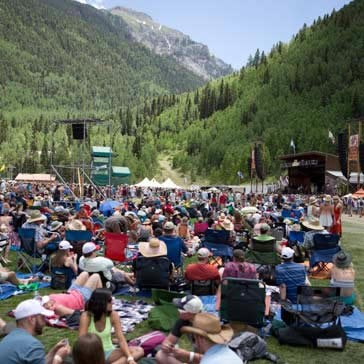 Telluride Bluegrass Festival: Friday, June 16, 2017
