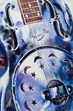 1998 Telluride Bluegrass Festival Poster