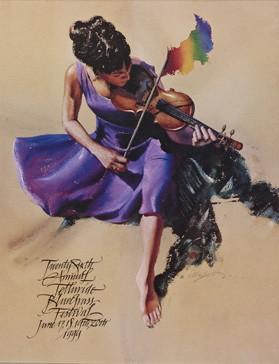 1999 Telluride Bluegrass Festival Poster