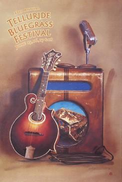 2006 Telluride Bluegrass Festival Poster