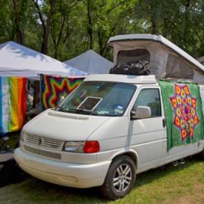 Tie-Dye minivan