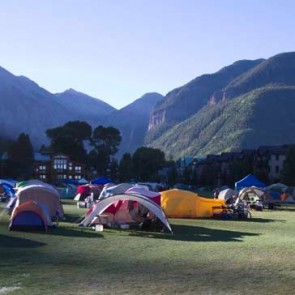 Telluride Bluegrass Camping: High School (requires 4-day pass)
