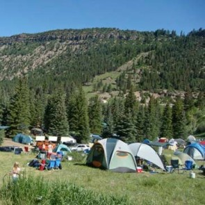 Telluride Bluegrass Camping: Mary E Ilium (requires 4-day pass)