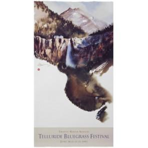 2002 Telluride Bluegrass Festival Poster