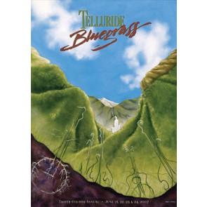 2007 Telluride Bluegrass Festival Poster